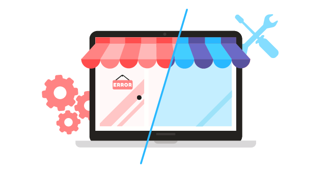 Maintain web-to-print storefront