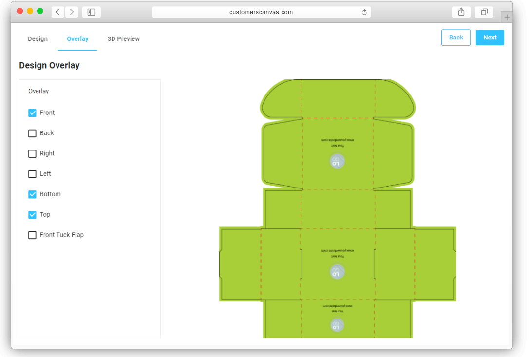 Box - restricted areas screenshot 2