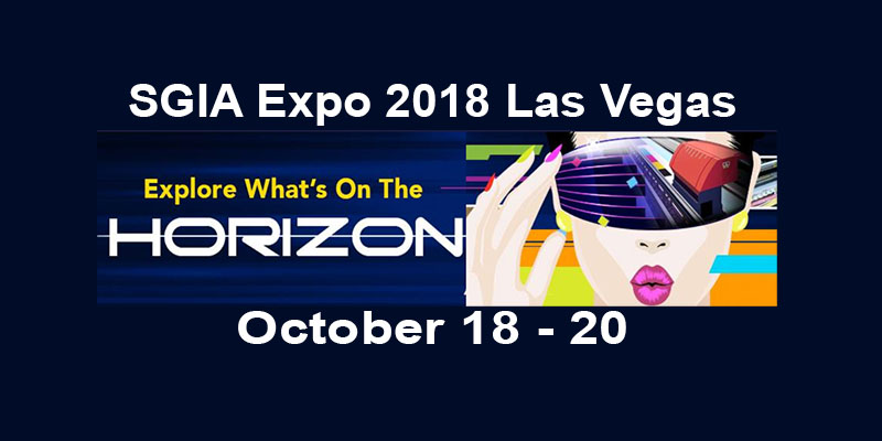 Meet Customer's Canvas team in Las Vegas at SGIA Expo 2018